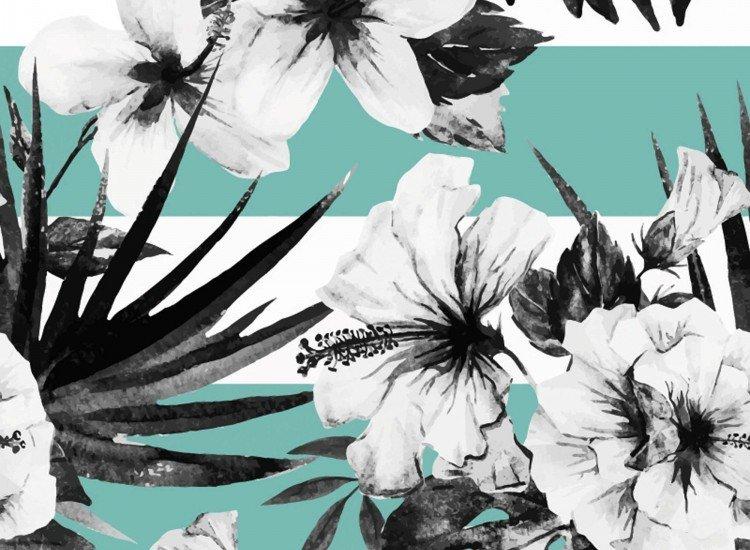 Цветя-Фототапет Акварелен хибискус