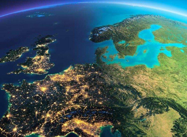 Космос-Фототапет Планетата Земя в детайли
