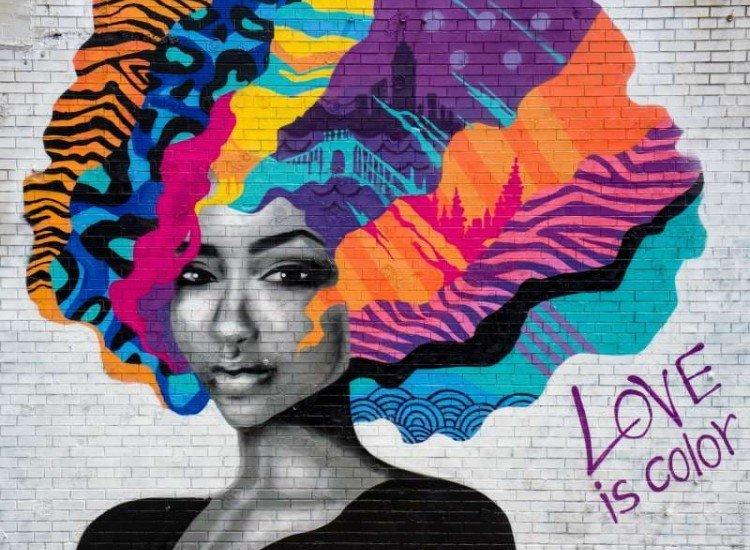 Модерни графики-Фототапет Love is Color