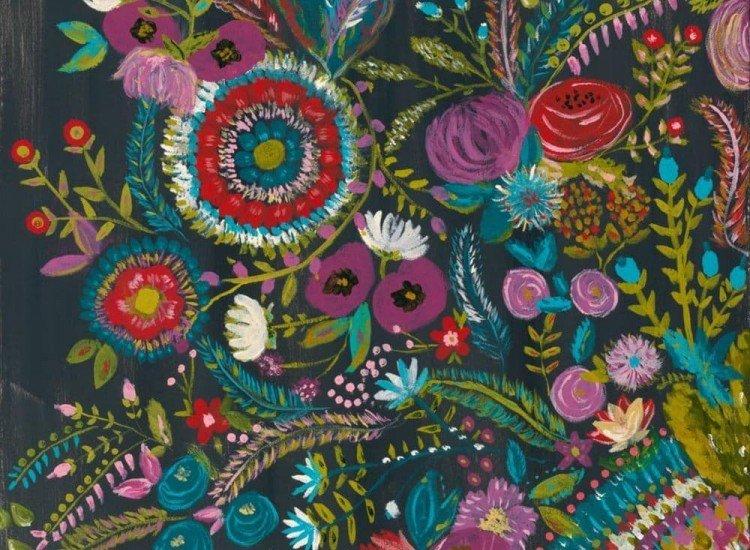 Цветя-Фототапет Арт Цветове