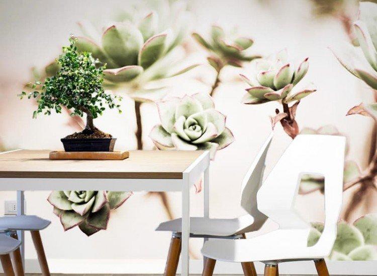 Растения-Фототапет Цветове