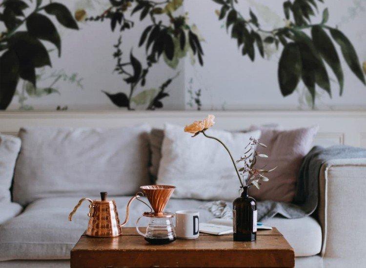 Растения-Фототапет Винтидж листа