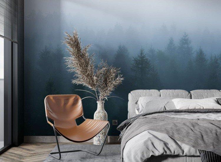 SALE-Фототапет Мъглива гора