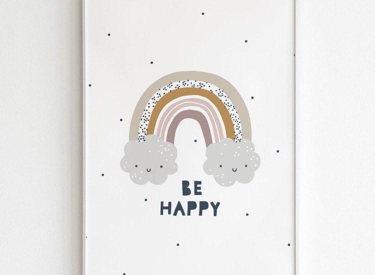 Картини-Картина Be Happy