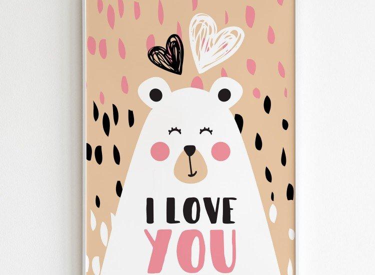 Картини-Картина Bear Love