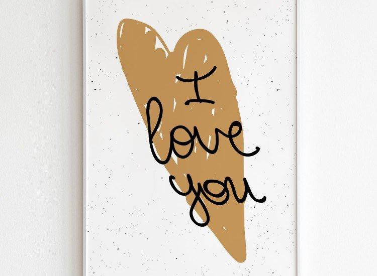 Картини-Картина I Love you