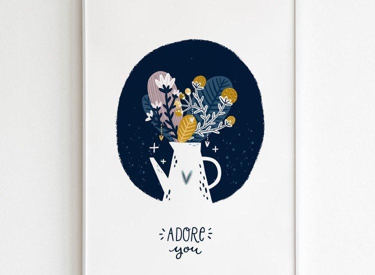 Картини-Картина Adore you