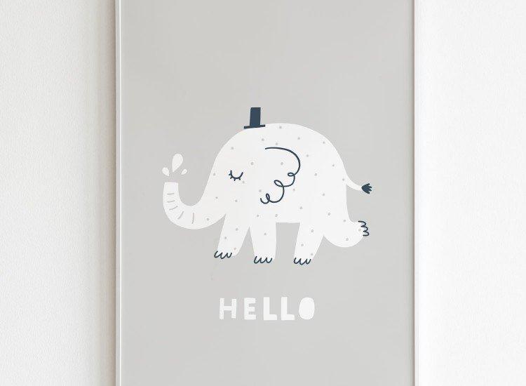 Картини-Картина Hello