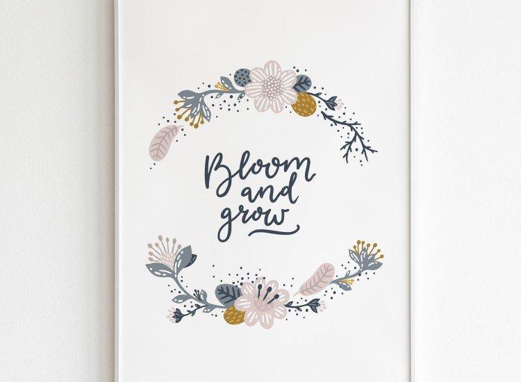 Картини-Картина Bloom and grow