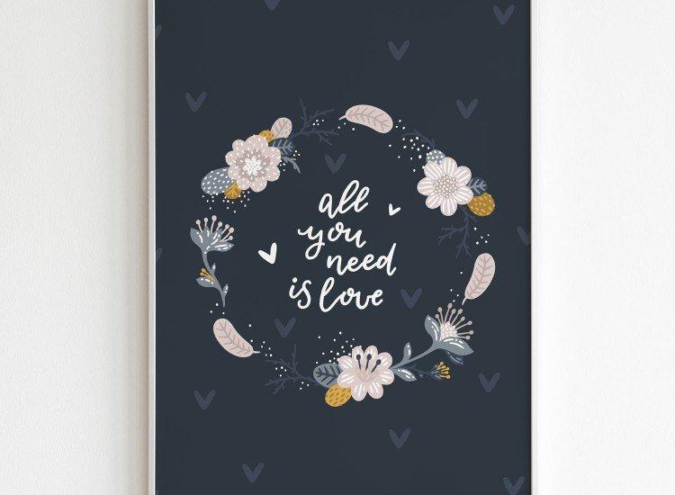 Картини-Картина All you need is love