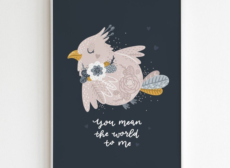 Картини-Картина You mean the world to me