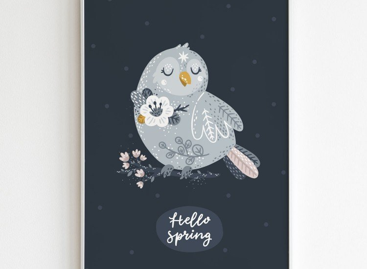 Картини-Картина Hello spring