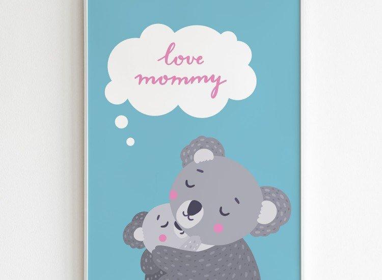 Картини-Картина Love mommy