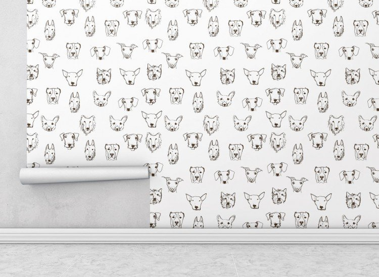 Тапети-Дизайнерски Тапет Dogs