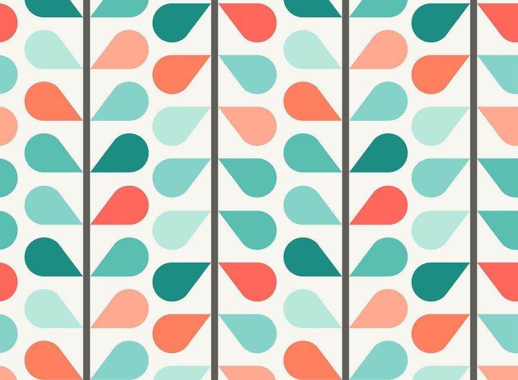 Тапети-Дизайнерски Тапет Вертикални листенца