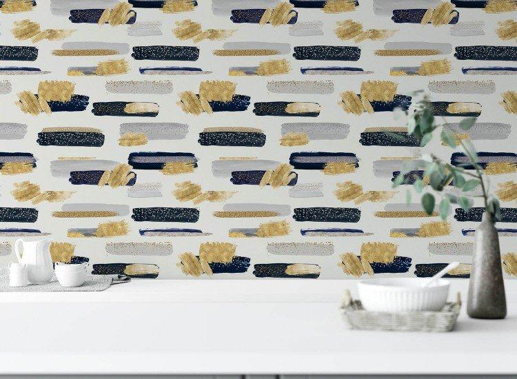 Тапети-Дизайнерски Тапет Gold
