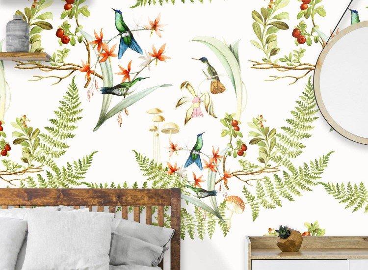 Тапети-Дизайнерски Тапет Hummingbird