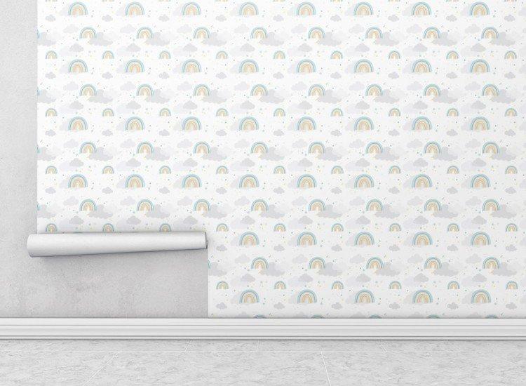 Тапети-Дизайнерски Тапет Rainbow