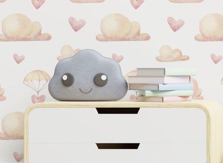 Тапети-Дизайнерски Тапет Heart Parachute